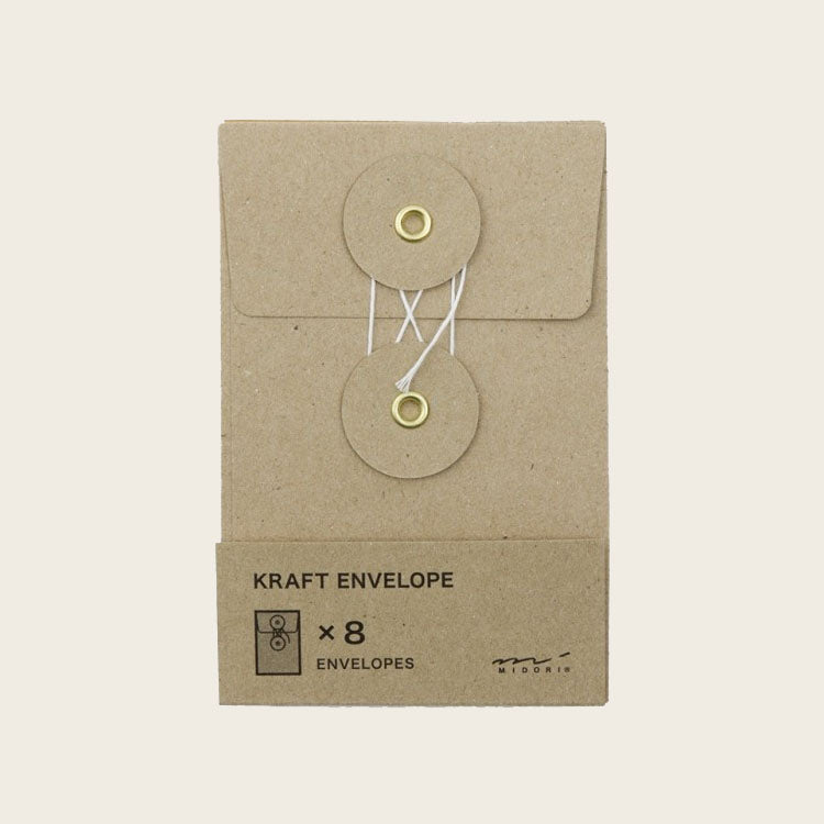 Kraft String Envelope - Small