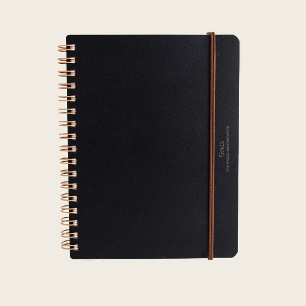 Grain Notebook - Black