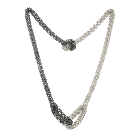 Elliot knotted chain necklace