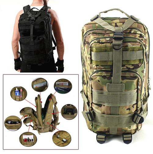 MILITARY TACTICAL OUTDOOR BACKPACK