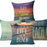 Beach Style Throw Pillow Case