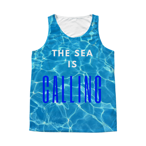 The Sea Is Calling Tank Top (unisex)