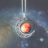 Moon Galaxy Necklace