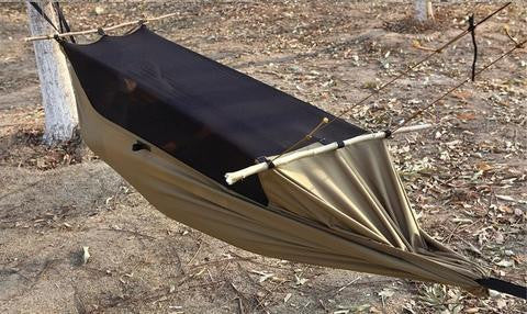 SURVIVAL HAMMOCK WATER PROOF, TEAR RESISTANCE & MOSQUITO PROOF