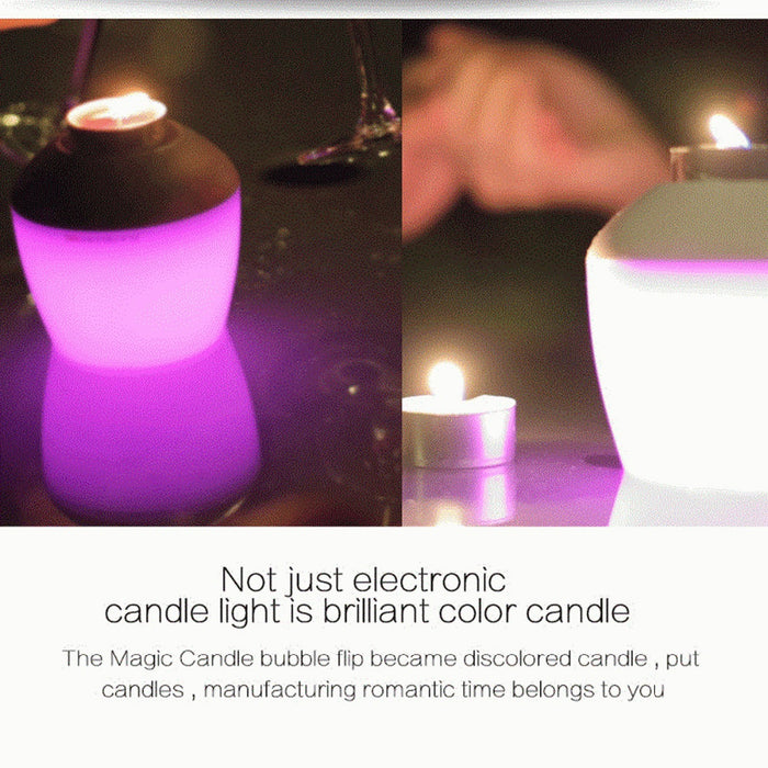 ROMANTIC SCENTED FLAMELESS CANDLE LIGHT