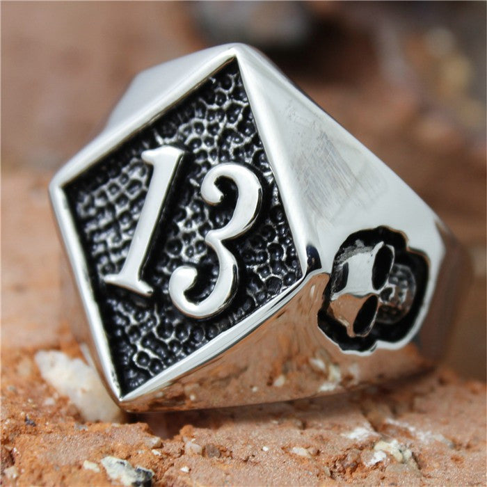 "Stainless Steel ""13"" Ring"