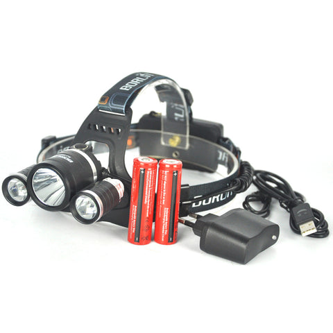 The Illuminator™ LED USB Headlight