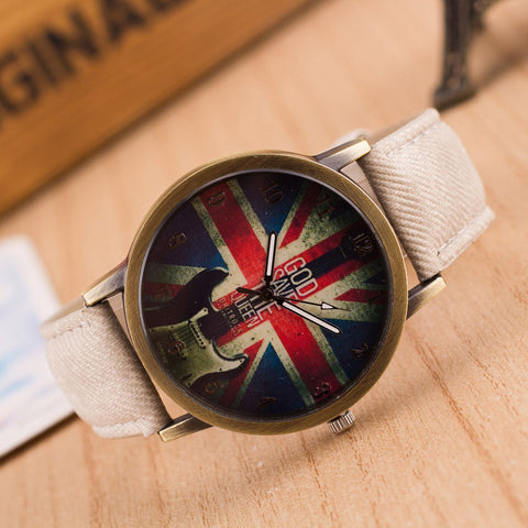 British God Save the Queen Watch