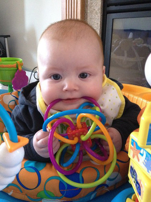 Baby Rattle and Teether Toy