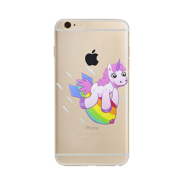 Rainbow Unicorn iPhone Case