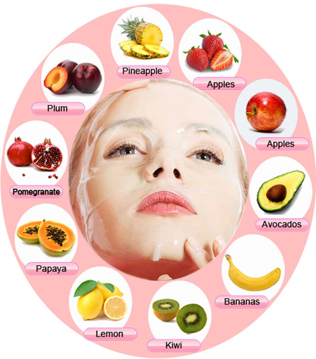 Natural Collagen Fruit Face Mask Machine