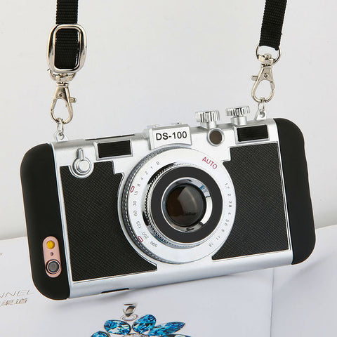 3D Retro Camera Phone Case