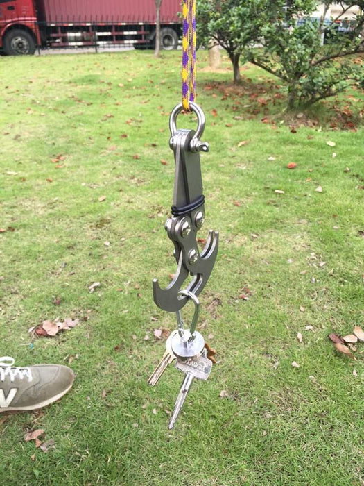 Folding Outdoor Grappling Gravity Hook - Climbing Claw