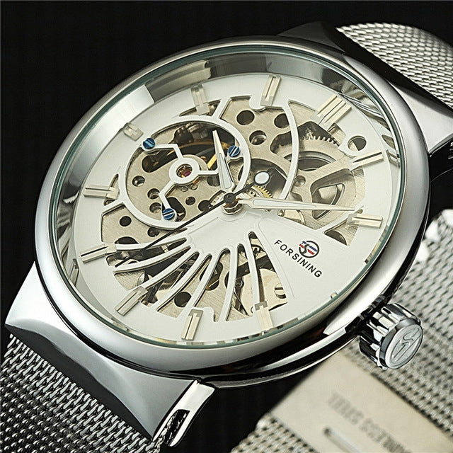 Forsining Luxury Skeleton Watch