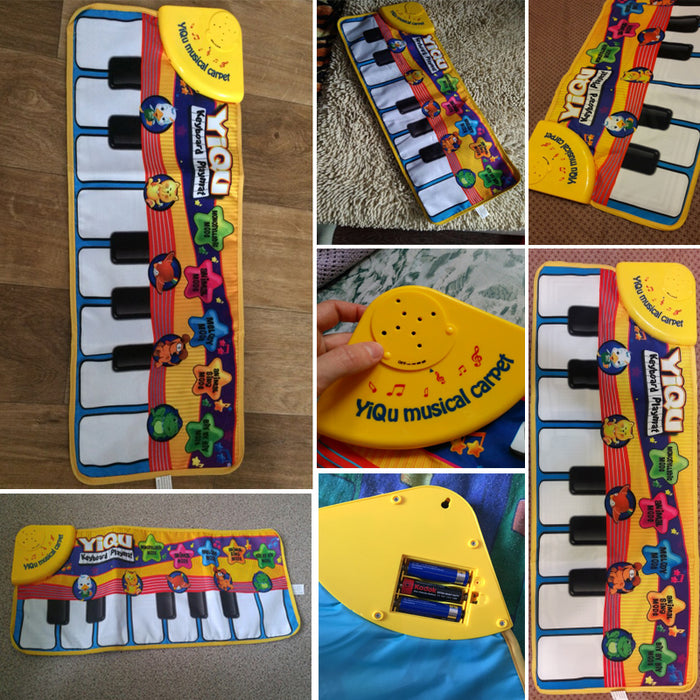Baby Piano Music Playmat