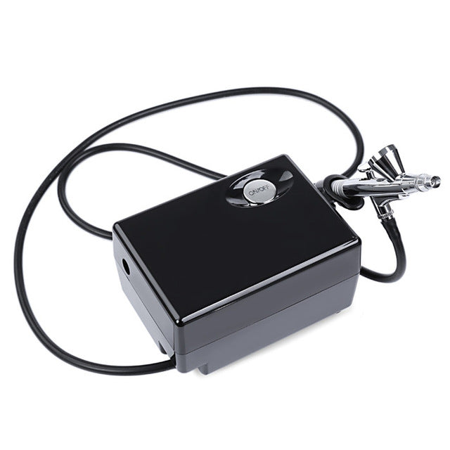 Portable Airbrush with Mini Air Compressor