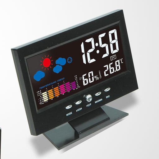 Multi-function Digital Weather Station Clock