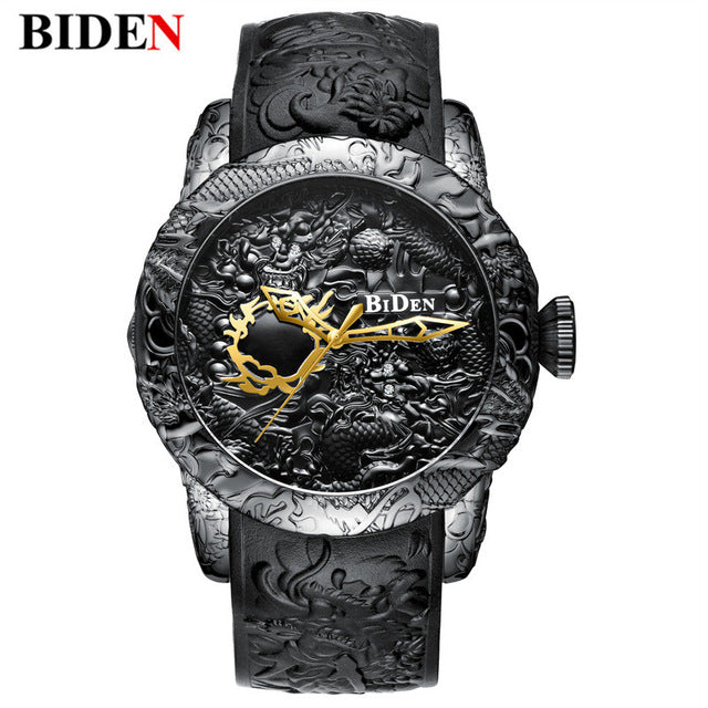 3D DRAGON SCULPTURE WATCH