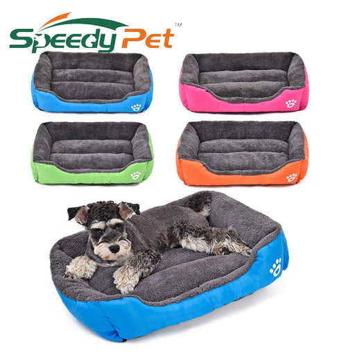 Cozy Fleece Dog Bed