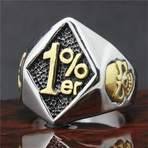 Stainless Steel  1%er Ring