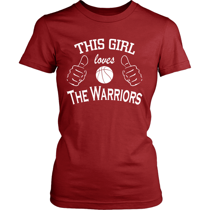 This Girl Loves The Warriors T-Shirt