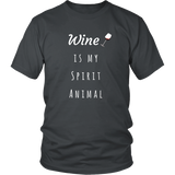 Wine is My Spirit Animal Unisex T-Shirt
