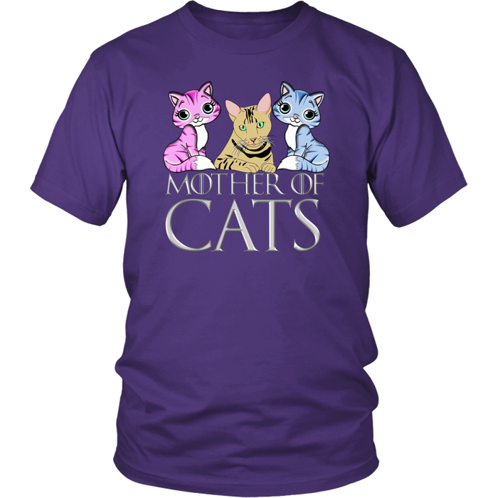 """Mother Of Cats"" Game of Thrones T-shirt"