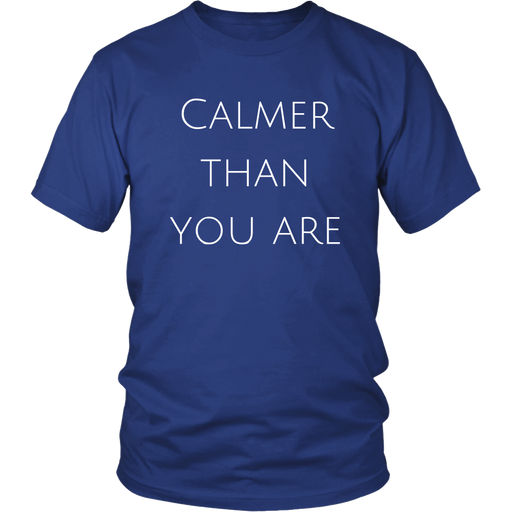 "Walter ""Calmer Than You Are"" Sobchak T-Shirt"