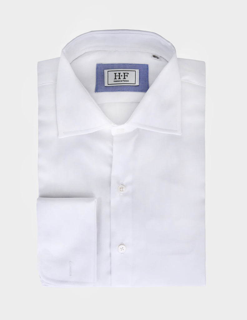 Show off your cufflinks with our cufflink cuff white shirt. You'll look stylish and ready to impress.