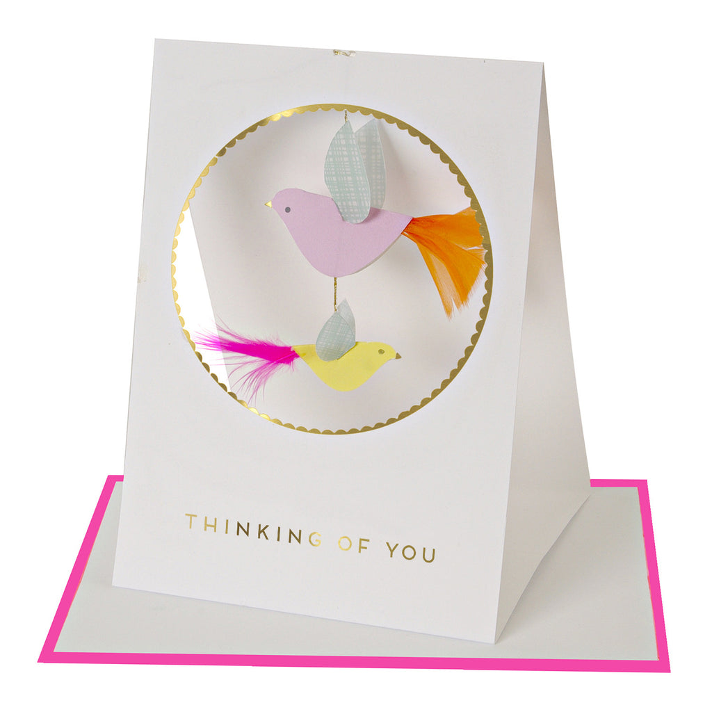 Birds Thinking of You Friendship Card