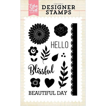 Beautiful Day Stamp Set - Jillian Maddie Paperie