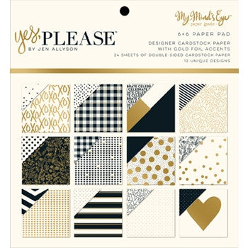 Yes, Please Patterned Paper