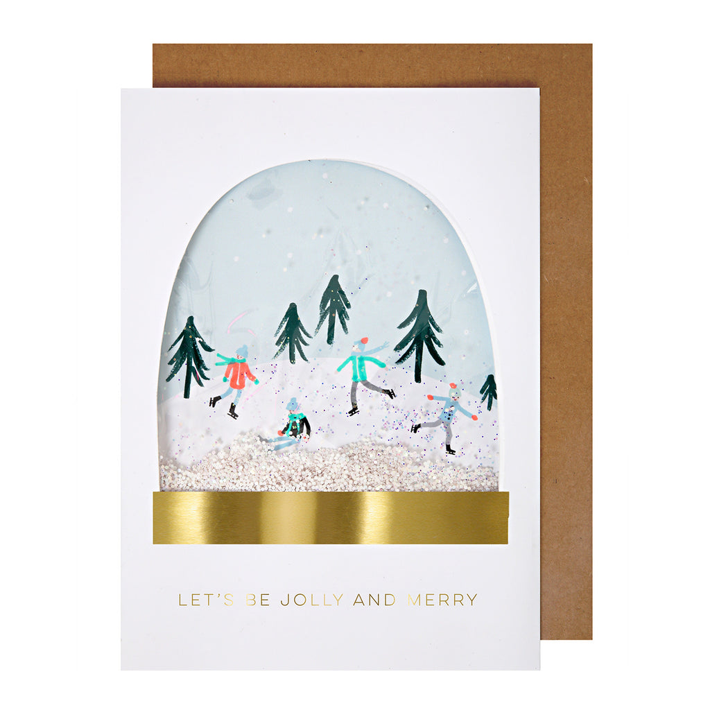 Let's Be Jolly Card