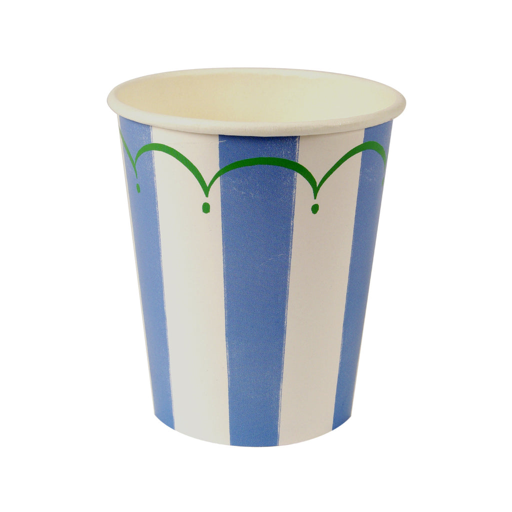 Blue and White Party Cups