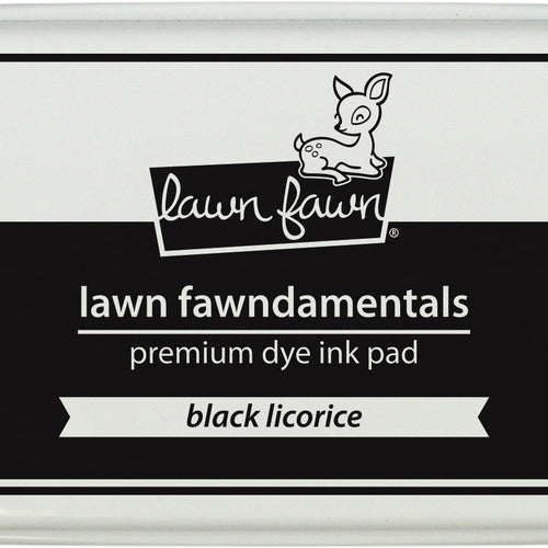 Ink Pad- Black Licorice