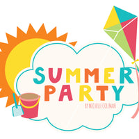 Summer Party Paper Pad