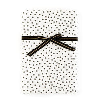 Black and White Stripes & Dots Gift Wrap