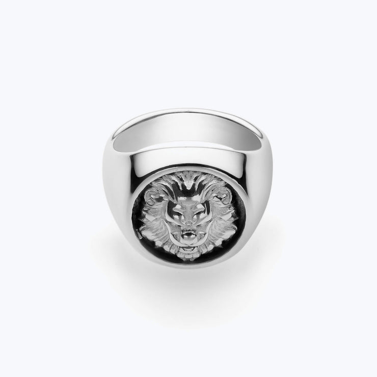 Silver Lion / Silver Ring