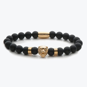 Lion Series - Gold Black Onyx Matte