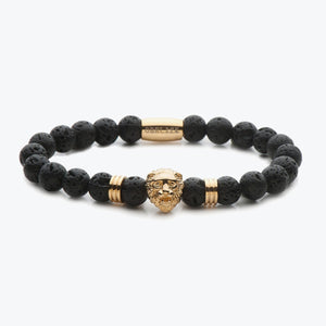 Lion Series - Gold Lava Stone