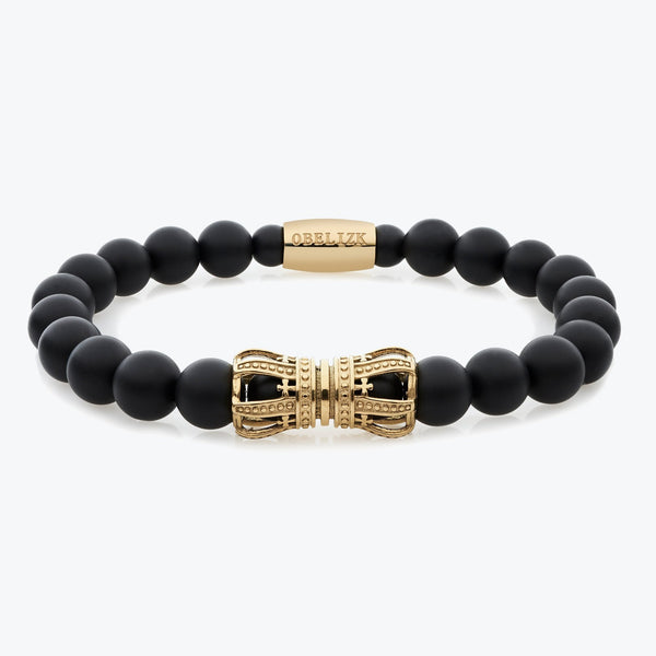 Royal Series - Gold Black Onyx