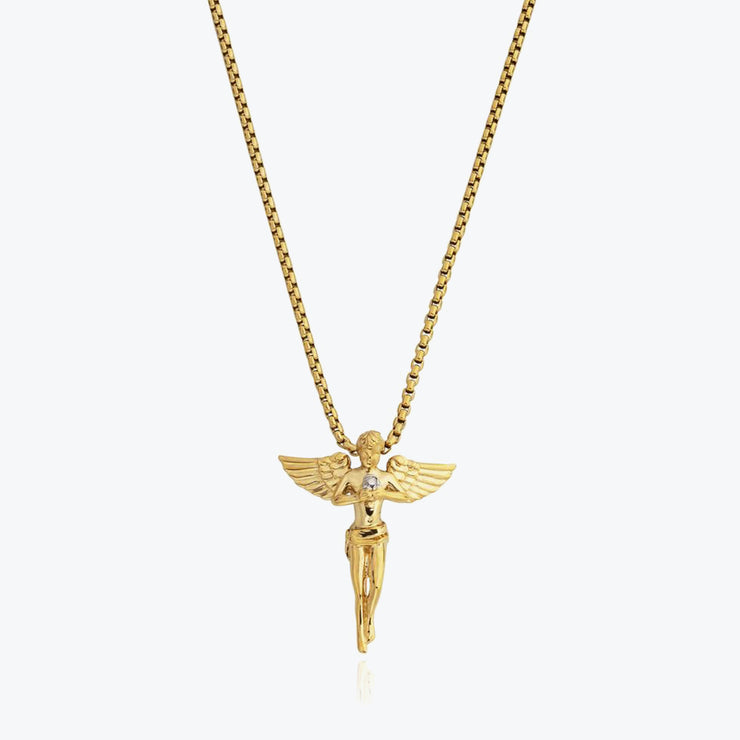 Gold Angel / Gold Chain