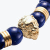 Lion Series - Gold Dark Blue Lapis