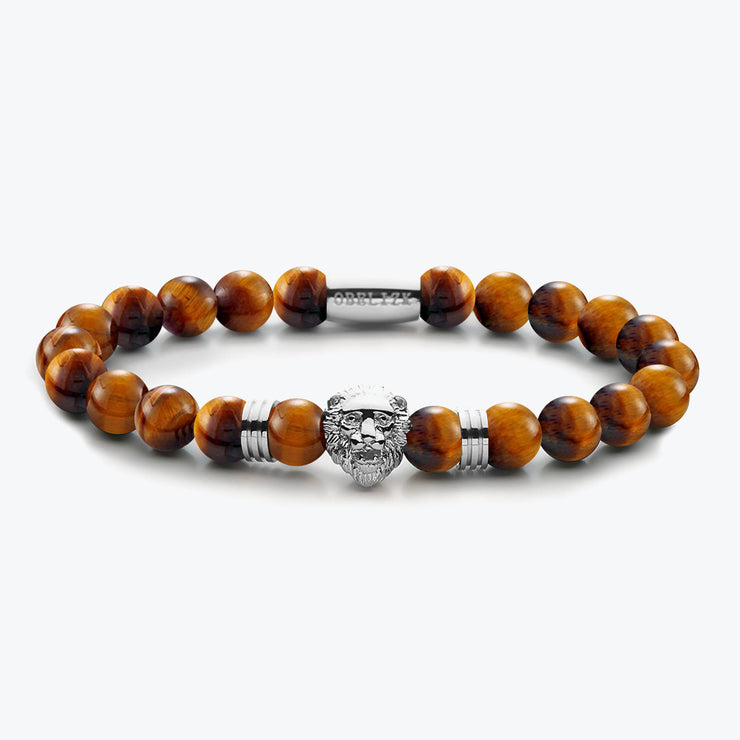 Silver Lion / Tiger Eye