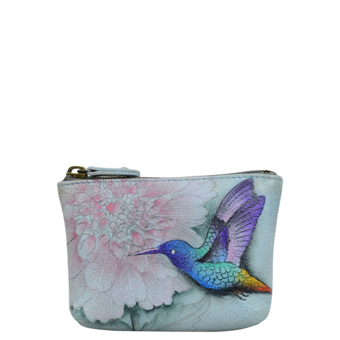 Anuschka Rainbow Birds Coin Pouch