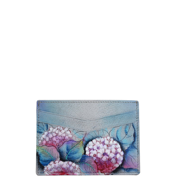 Anuschka Hypnotic Hydrangeas Credit Card Case