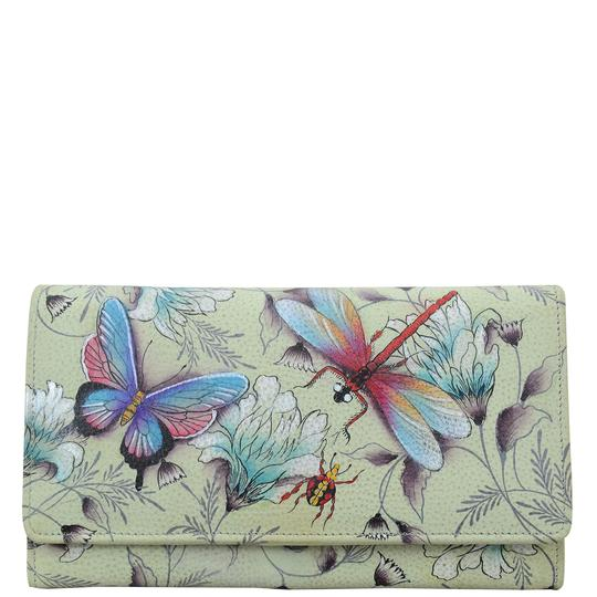 Anuschka Wondrous Wings Accordion Wallet