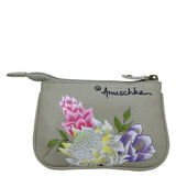 Anuschka Regal Peacock Coin Pouch