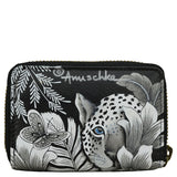 Anuschka Cleopatra's Leopard Accordion Credit Card Holder