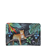 Anuschka Jungle Queen Small Organizer Wallet